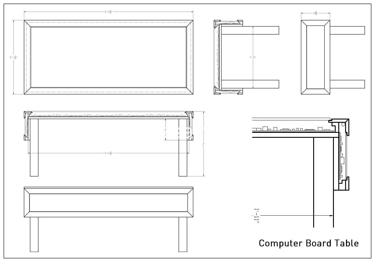 CPU Coffee Table