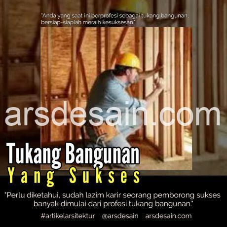Kepala Tukang Bangunan, artikel arsitektur