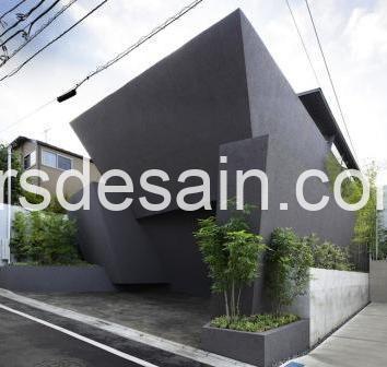 Rumah Minimalis Tanpa Jendela Depan 01
