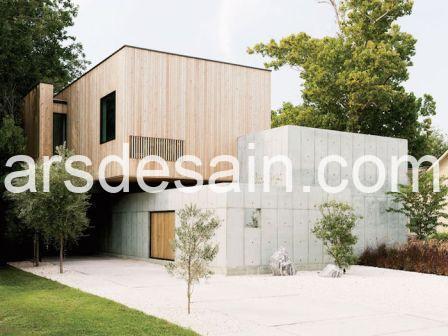 Rumah Minimalis Dinding Beton 01