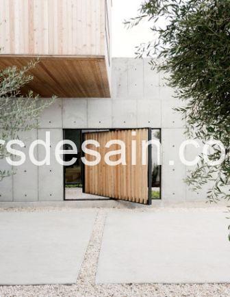 Rumah Minimalis Dinding Beton 02