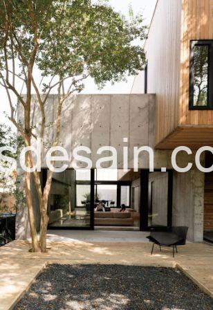 Rumah Minimalis Dinding Beton 03