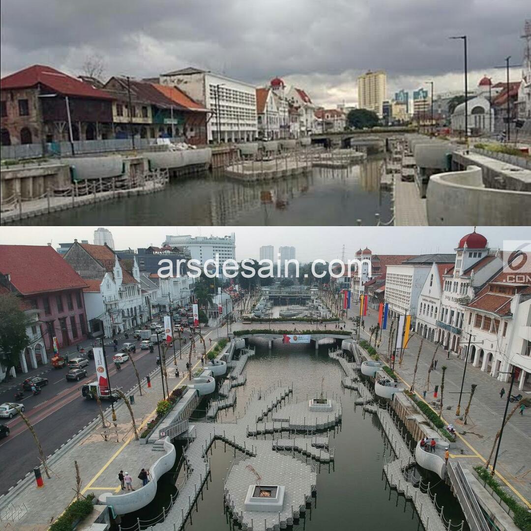 Berjuta Spot Instagramable di Kawasan Kali Besar Kota Tua Jakarta