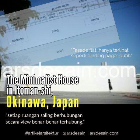 Rumah minimalis di Okinawa