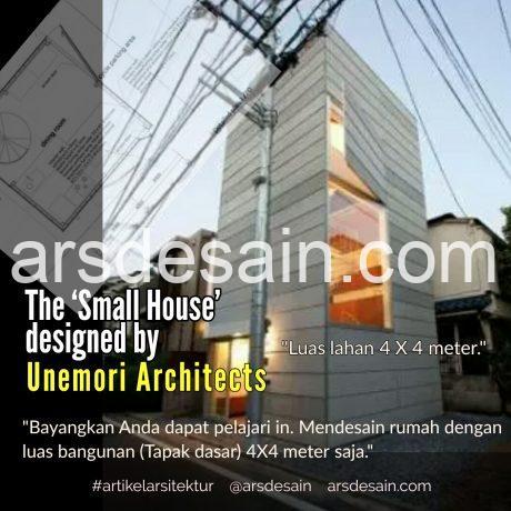 Rumah Minimalis Lahan Sempit Persegi