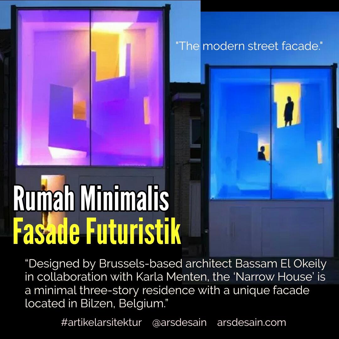 Rumah Minimalis Fasade Futuristik