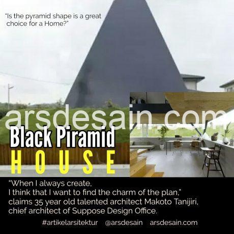 Rumah Minimalis Bentuk Piramid