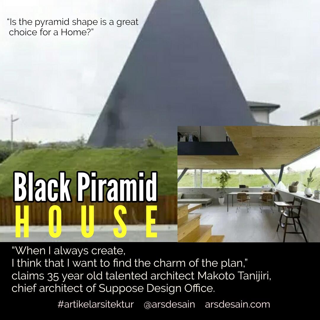 Rumah Minimalis Bentuk Piramid Berdaya Tarik Tinggi