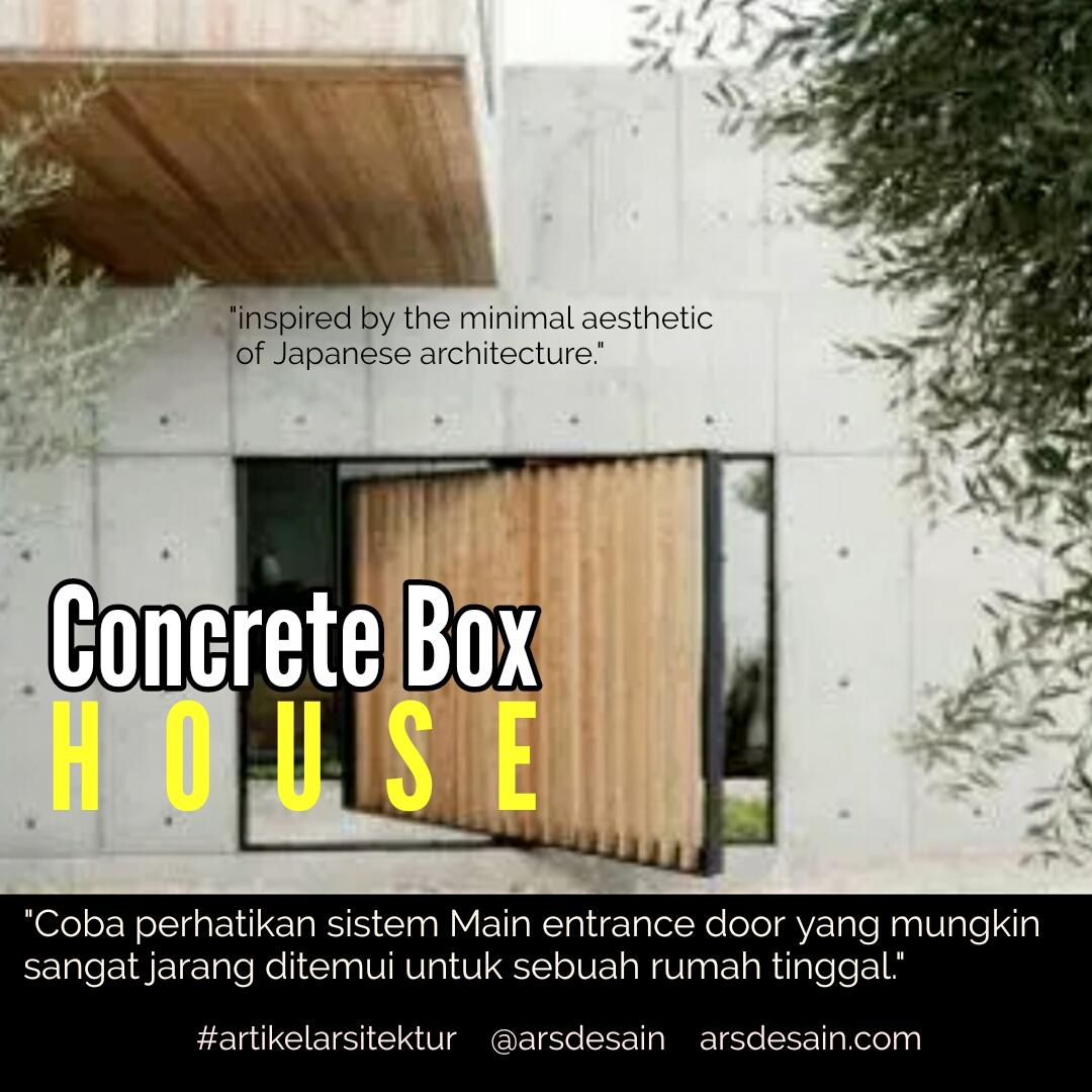 Rumah Minimalis Dinding Beton