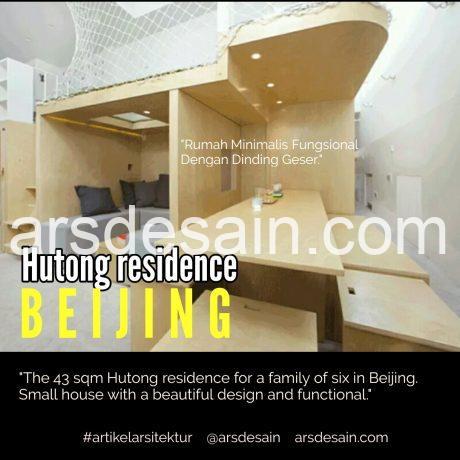 Hutong Residence. , artikel arsitektur