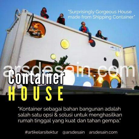 Rumah Kontainer, artikel arsitektur