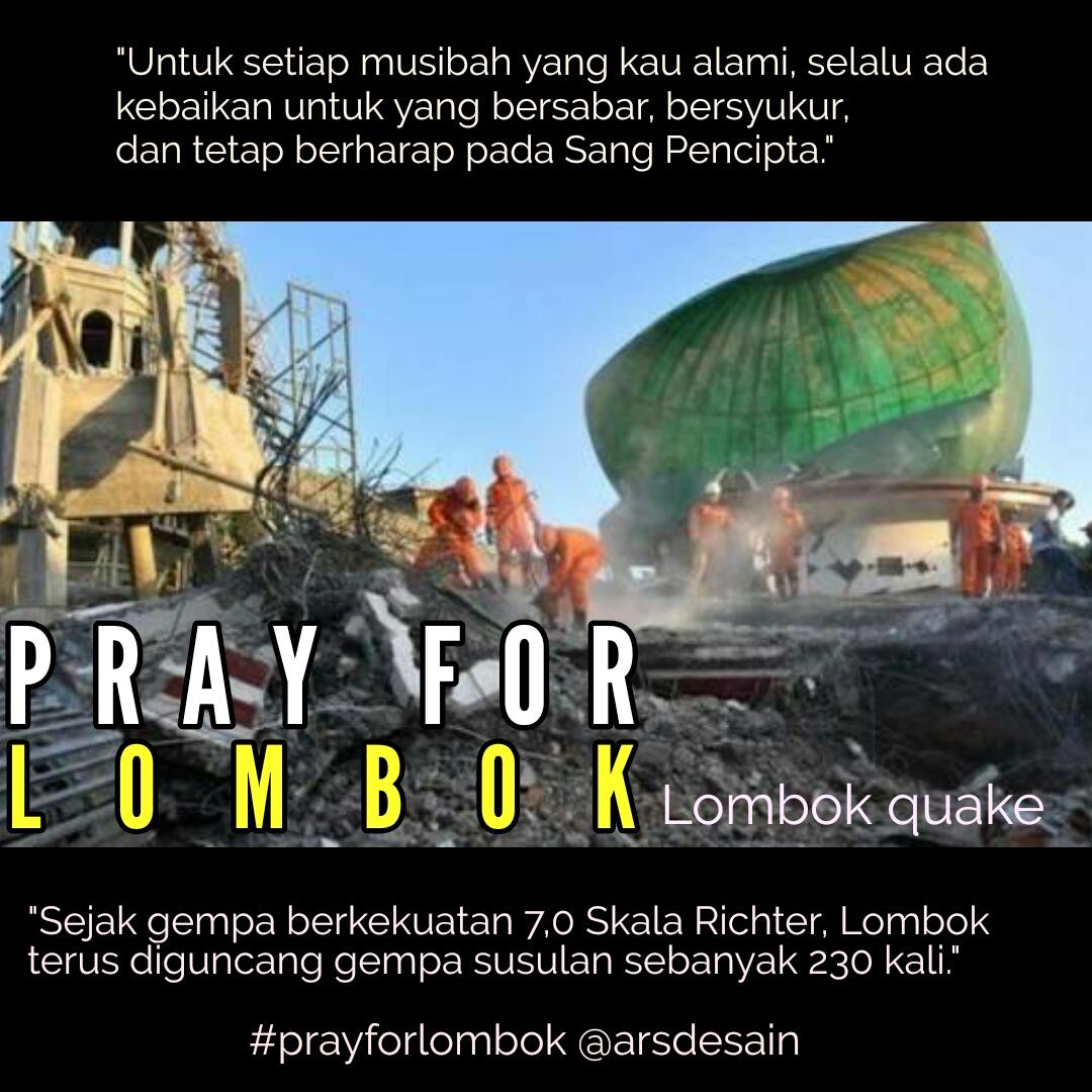 Gempa Lombok Bersusulan Diperkirakan Masih Sebulan Kedepan