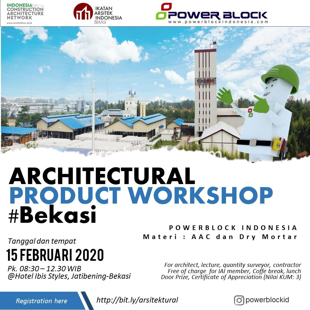 Architectural Product Workshop